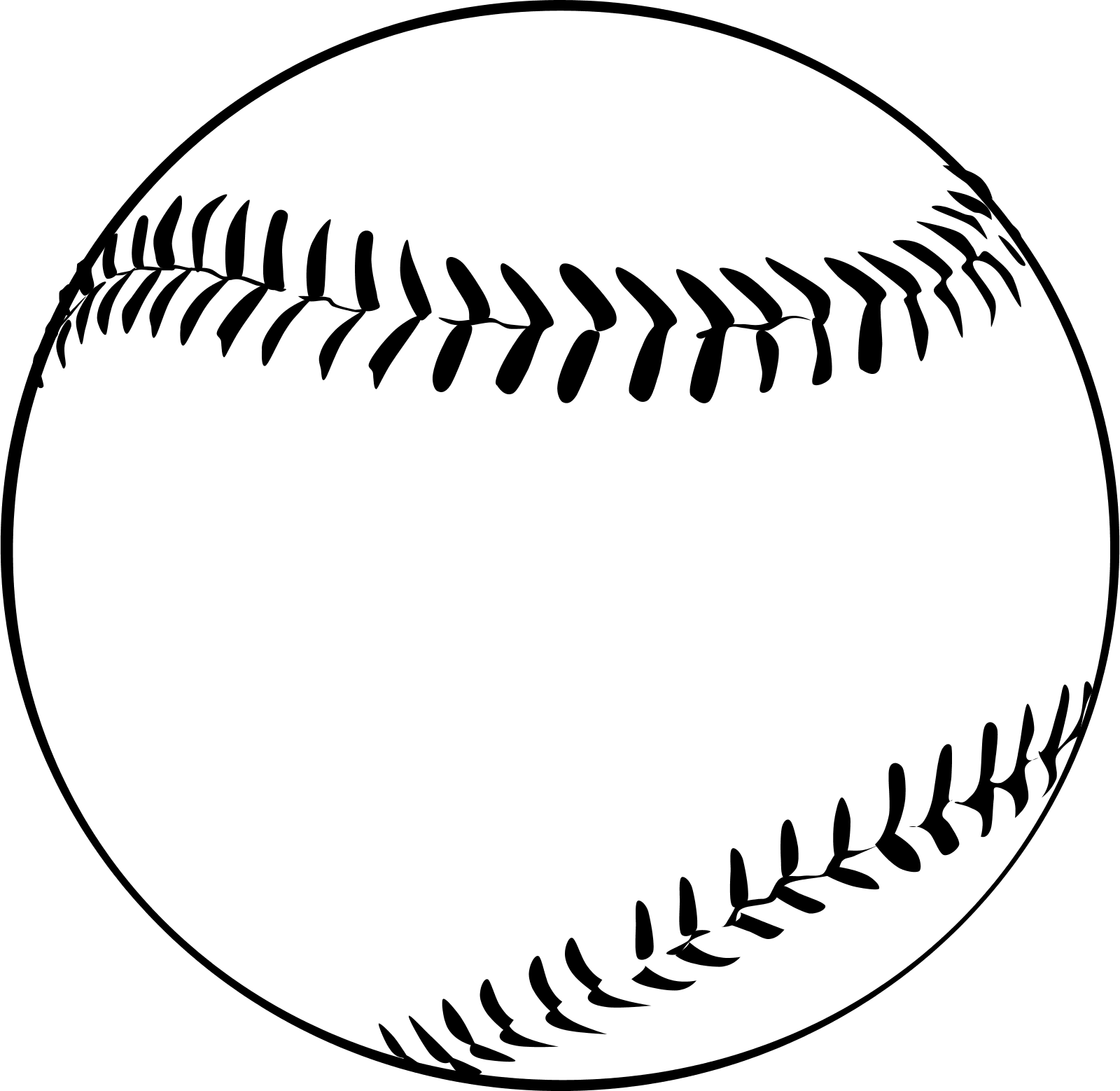 clipart royalty free download Might need this template. Baseball clip stitching