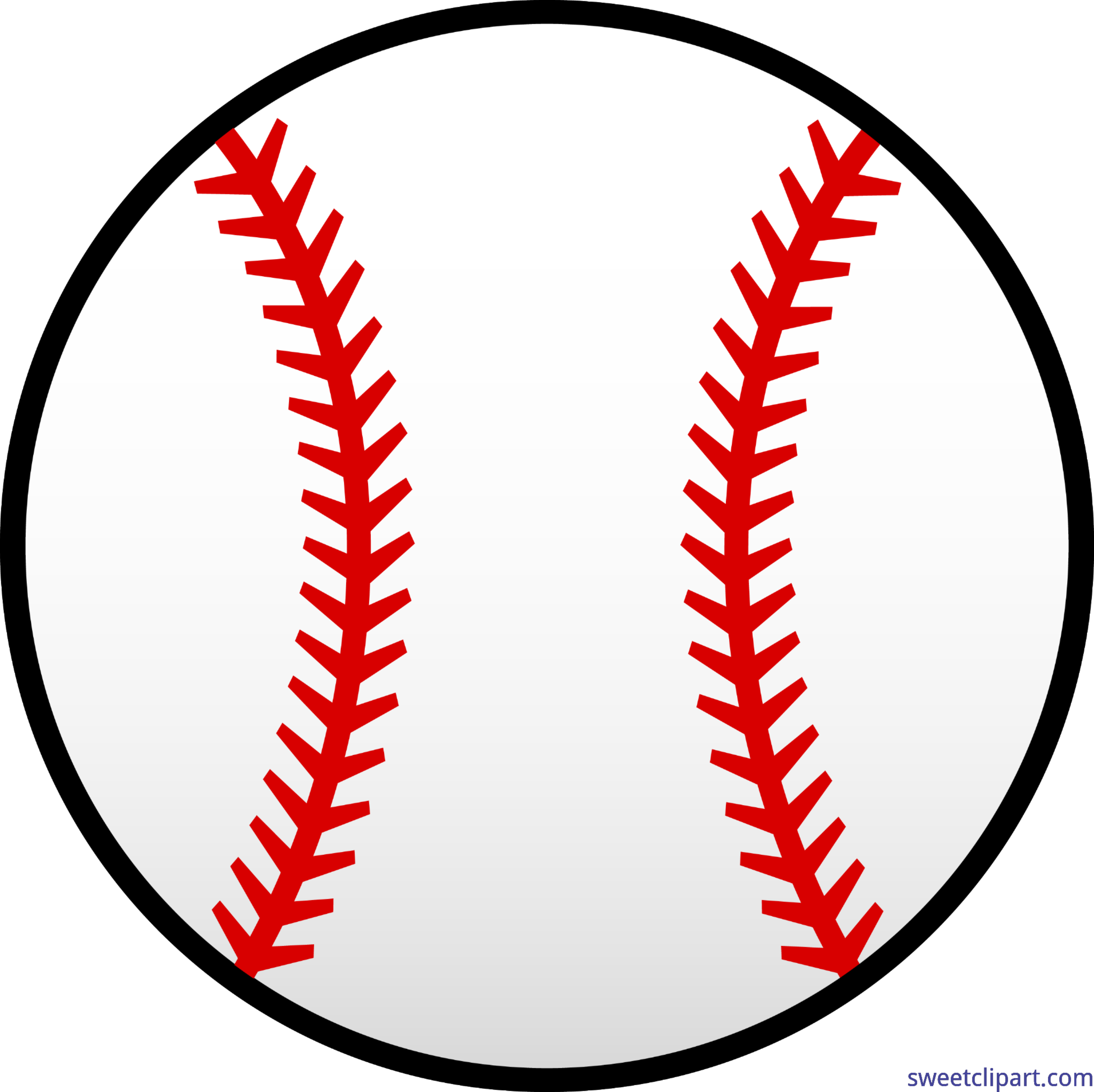 clipart transparent download Baseball clip. Red and white art