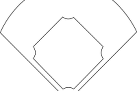 clip art freeuse download Download wallpaper clipart full. Baseball clip diamond