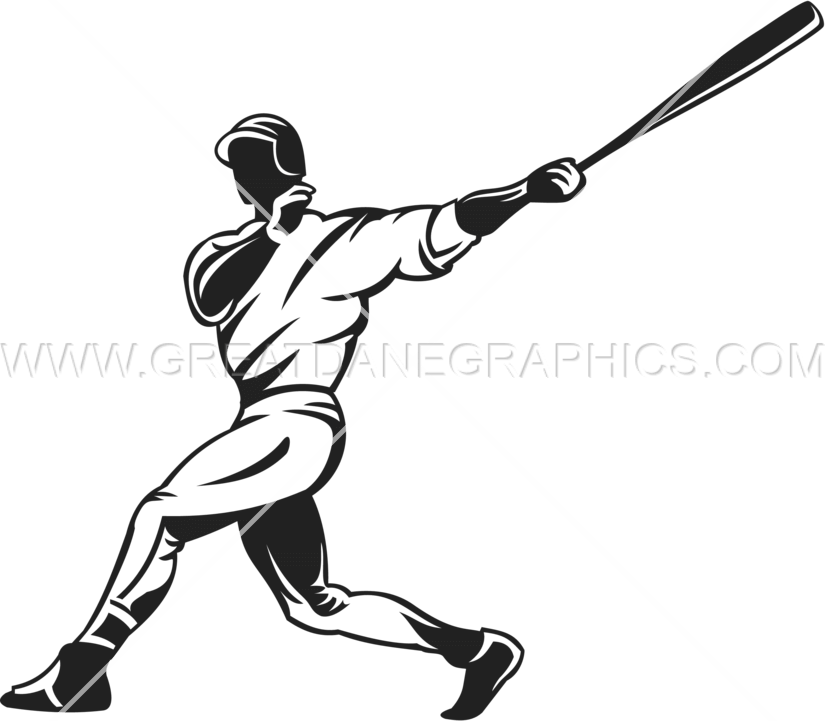 clip freeuse Baseball clip hitter. Production ready artwork for