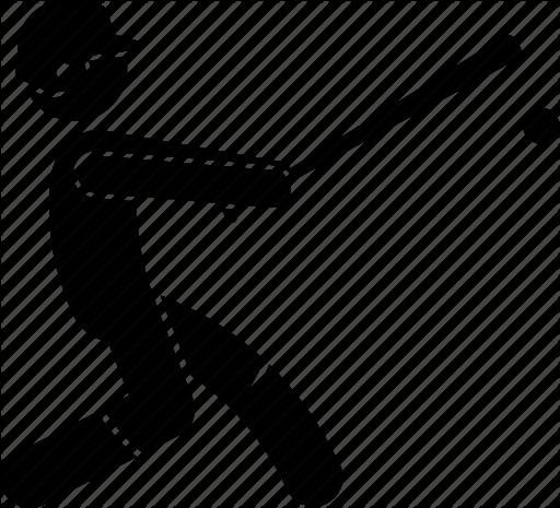 clip royalty free library Baseball clip hitter. Player by gan khoon