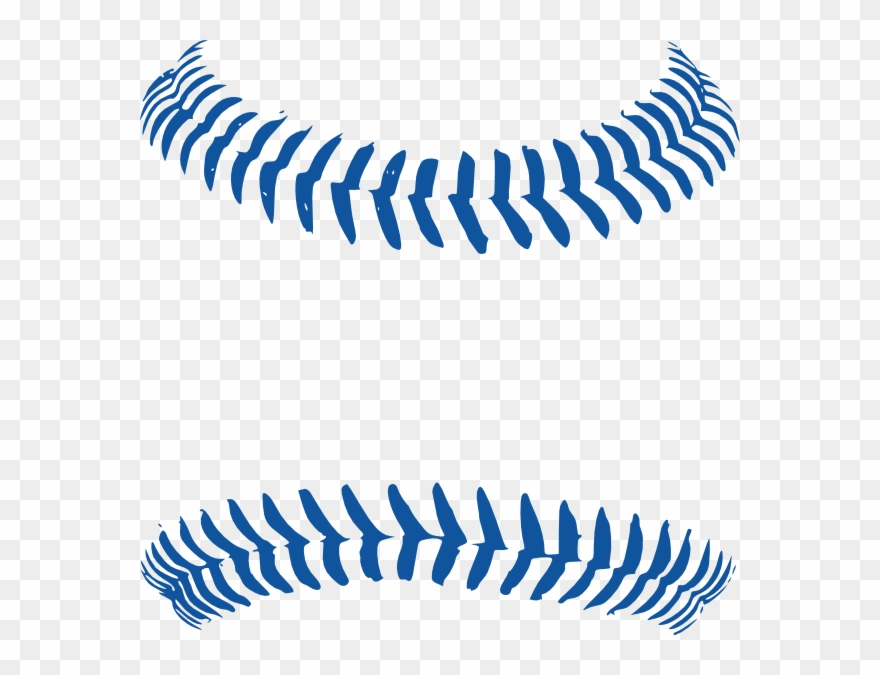 image black and white library Baseball clip stitching. Download free png line