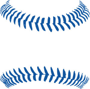 vector royalty free stock Blue option png svg. Baseball clip stitching