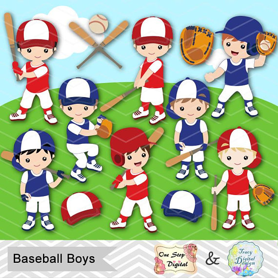 banner black and white download Baseball clip team. Digital boy clipart art