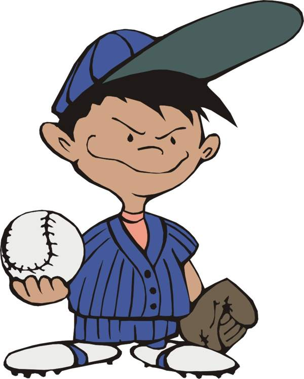 clip free Baseball clip youth. Free kids pictures download