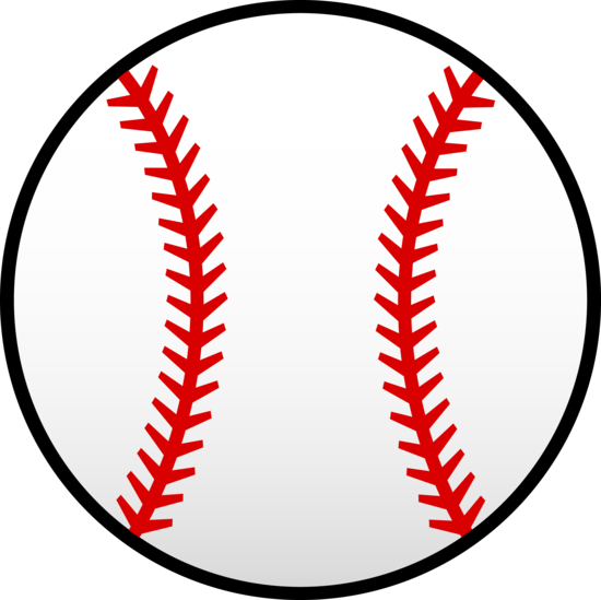jpg library Bows clipart baseball. Little league clip art
