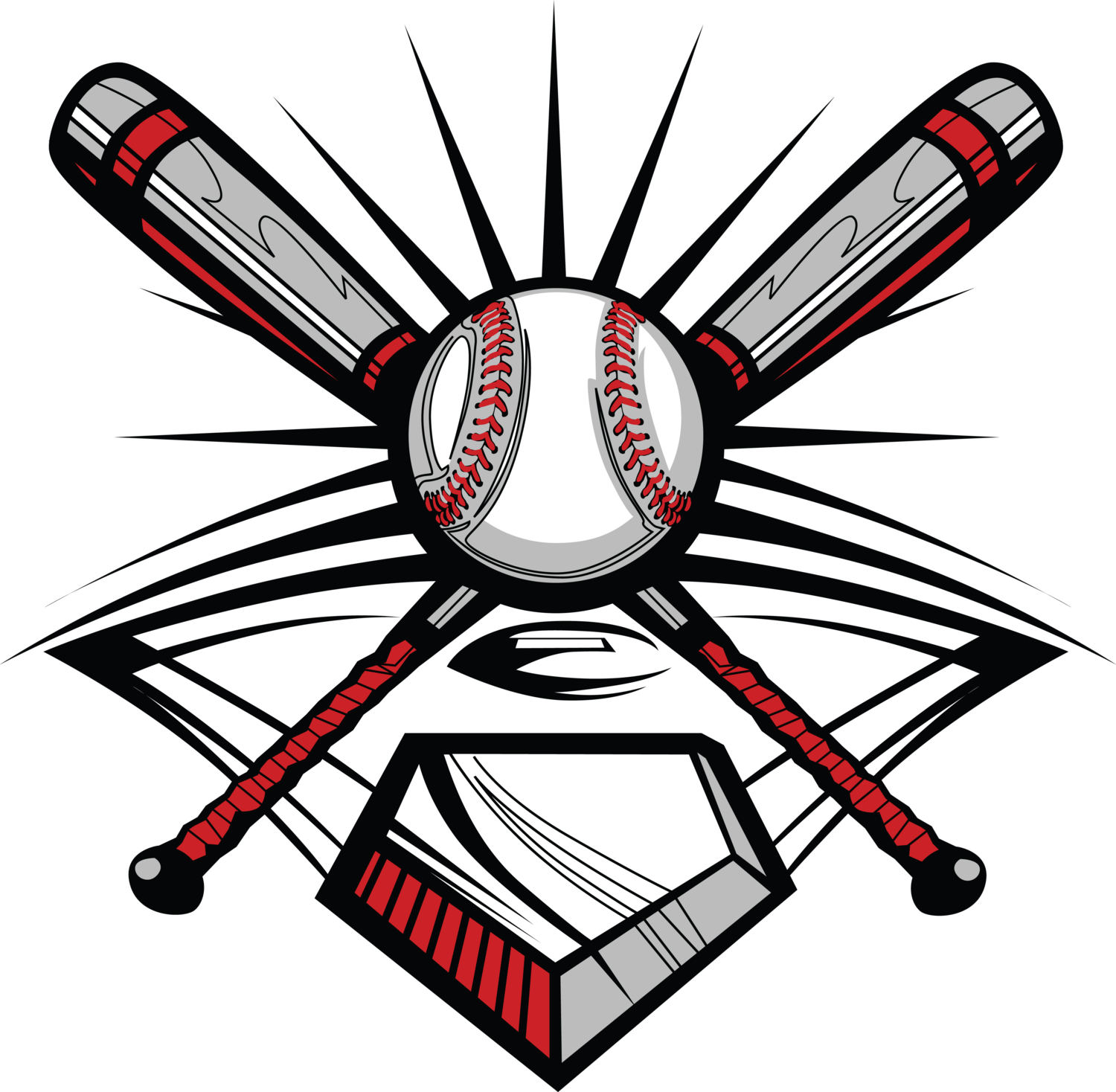 png black and white Baseball clipart batting cage. Ace cages .