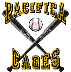 svg freeuse Baseball clipart batting cage. Pacifica cages hardballs and.