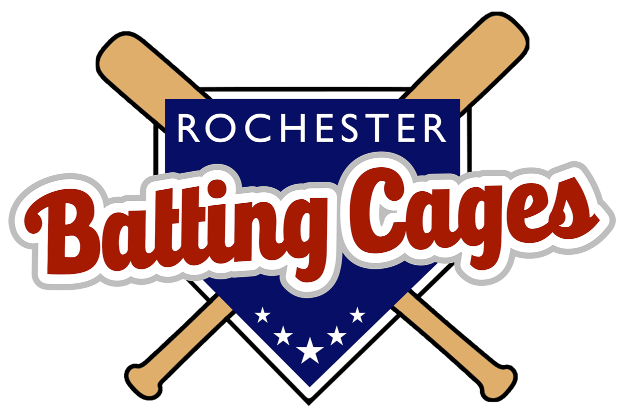 image free stock Rochester cages mn . Baseball clipart batting cage.