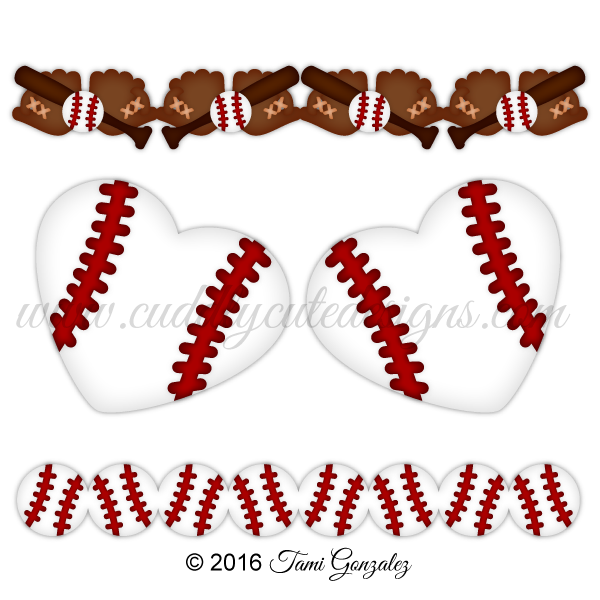clipart transparent library Baseball Borders