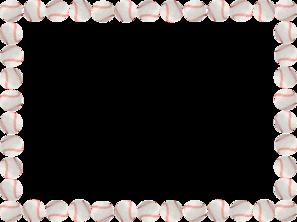 banner freeuse Border clip art free. Baseball clipart borders.