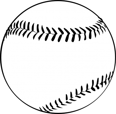 picture free stock Baseball clipart borders. Clipartaz free collection black.