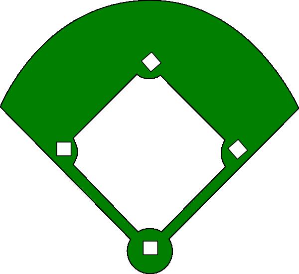 clip art black and white stock Baseball Field Clipart