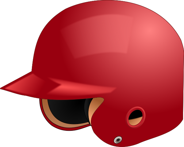 picture transparent stock Baseball Helmet Clipart