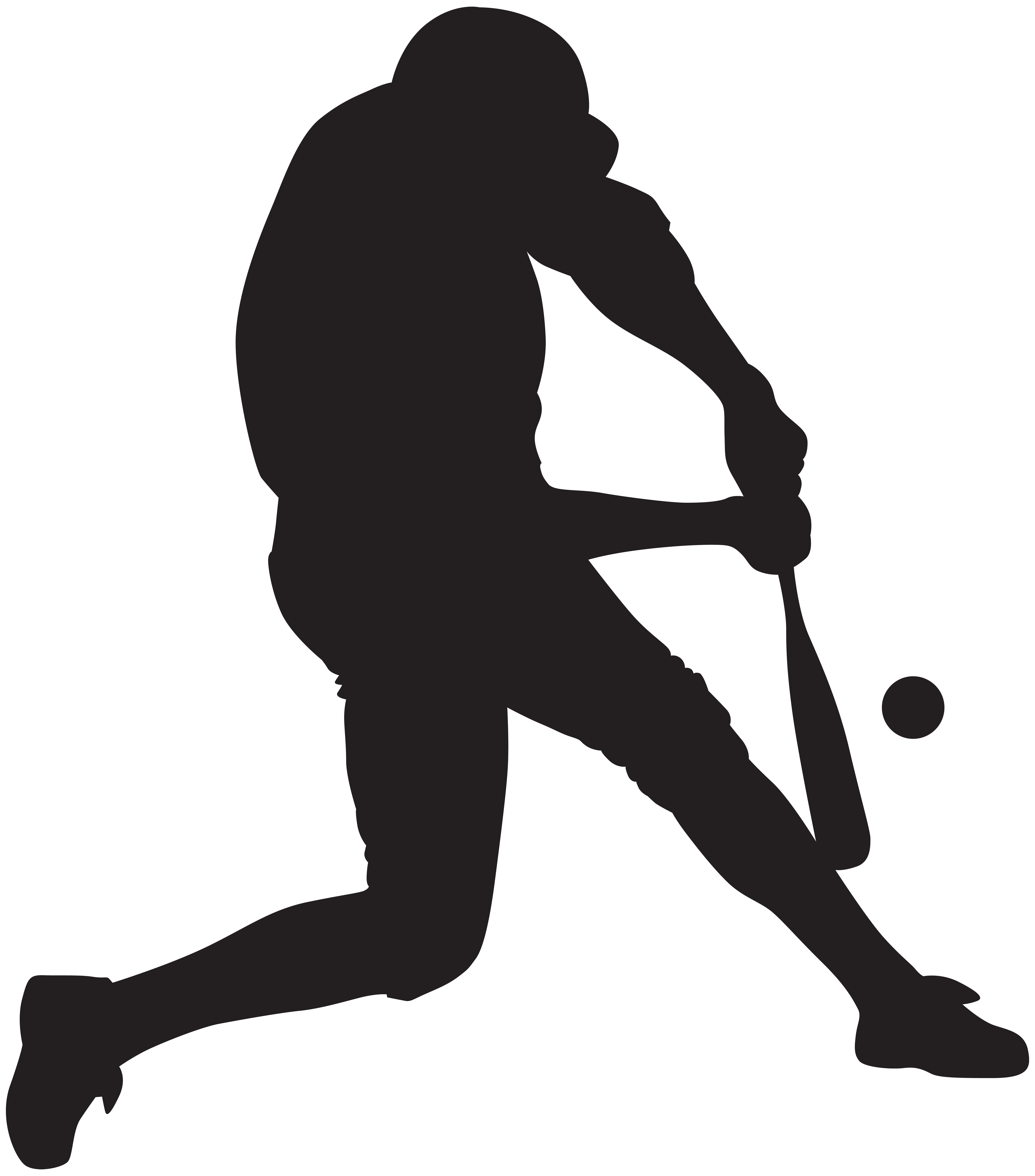 clip freeuse download Silhouette png art image. Baseball clip player