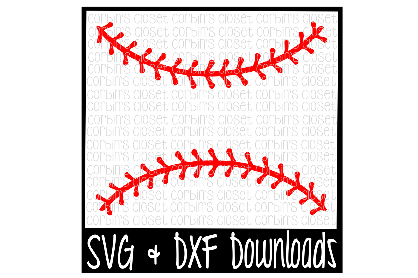 vector transparent stock Baseball Thread SVG