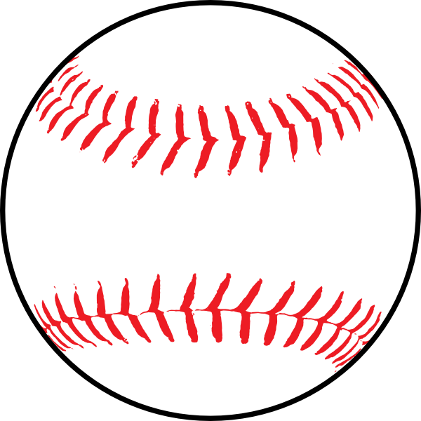 picture transparent download Softball art at clker. Baseball clip word