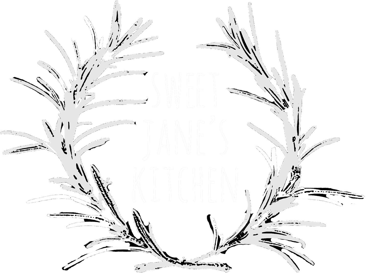 clip royalty free library Jane s kitchen . Basil drawing sweet