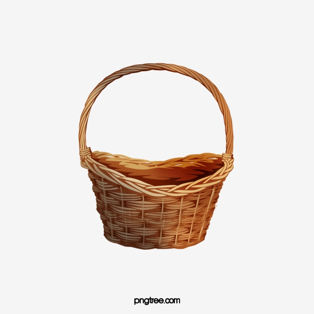 vector freeuse library Empty png transparent image. Basket clipart.