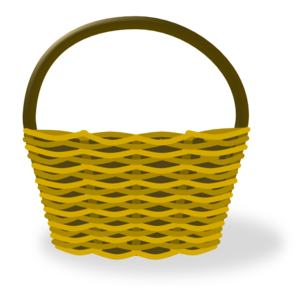 royalty free download Clip art at clker. Basket clipart.
