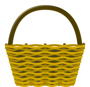 clipart black and white Basket clipart. Picnic clip art at.