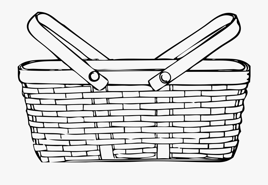 picture download Basket clipart. Picnic baskets clip art.