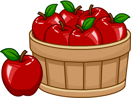 image free library Basket of apples clipart. Image puffle foodcatalog png