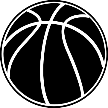 banner transparent The top best blogs. Basketball clip black and white
