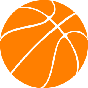 clipart library stock Basketball clip. Orange art at clker