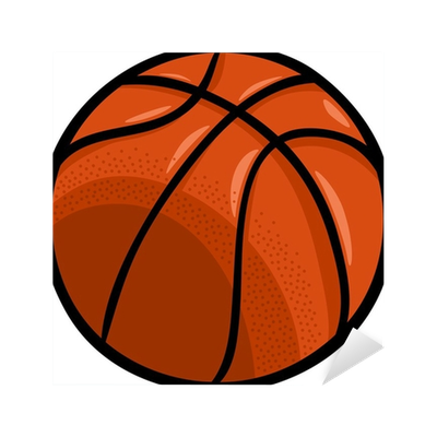 clip art free stock Basketball clip cartoon. Ball art sticker pixers