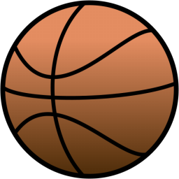 png royalty free library Basketball clip jpeg. Icon free icons