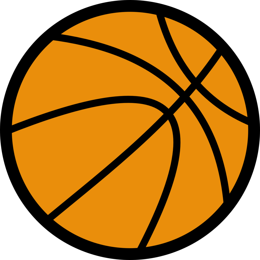 png black and white download Basketball clip line art. Free png peoplepng com