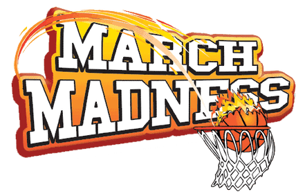 graphic royalty free library Santa barbara s largest. Basketball clip march madness