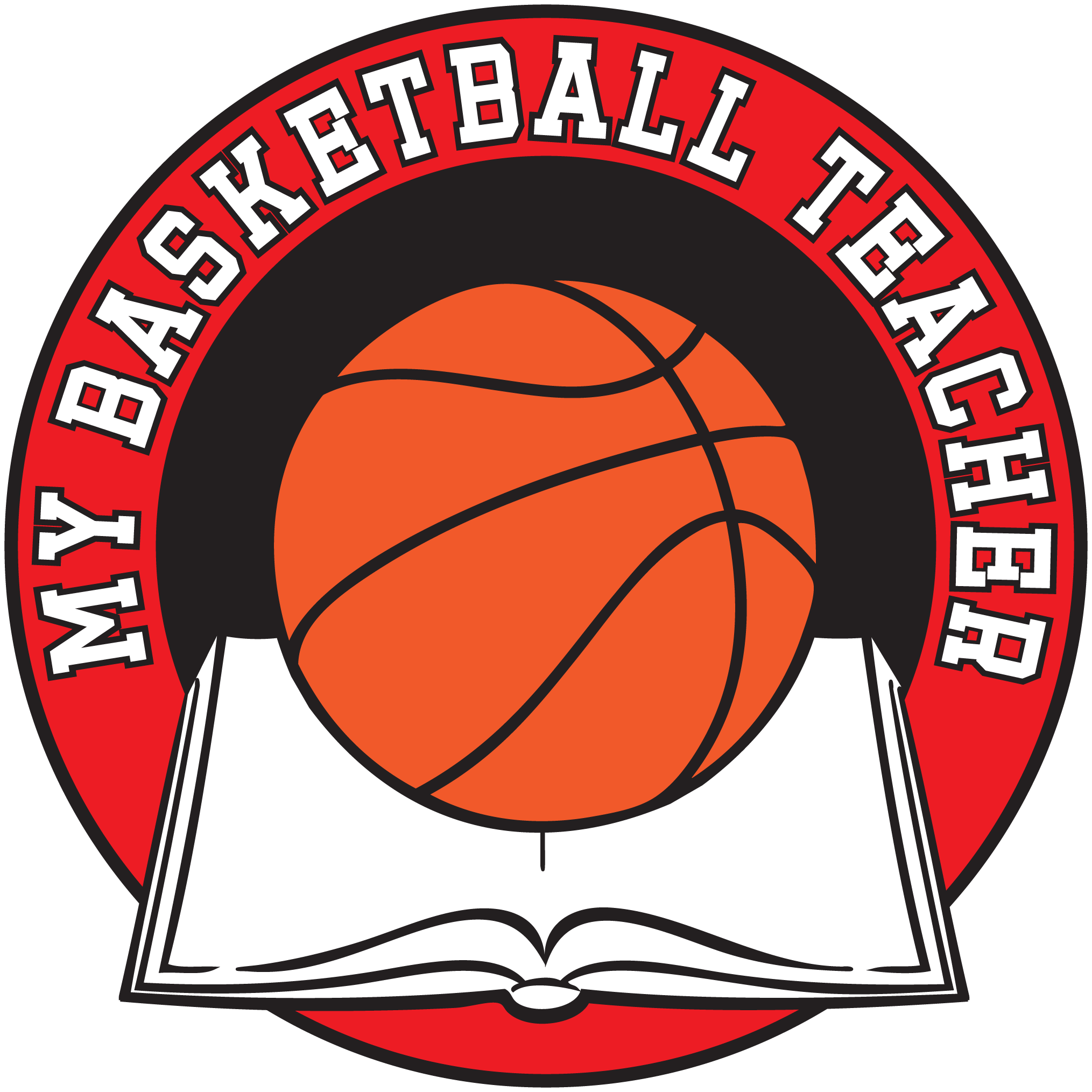 graphic black and white library Rainy home training program. Basketball clip sports day