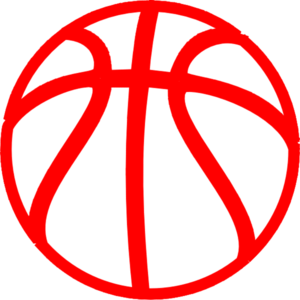 banner library stock Red art at clker. Basketball clip vector