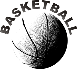 graphic freeuse download Basketball clip vector. Art at clker com