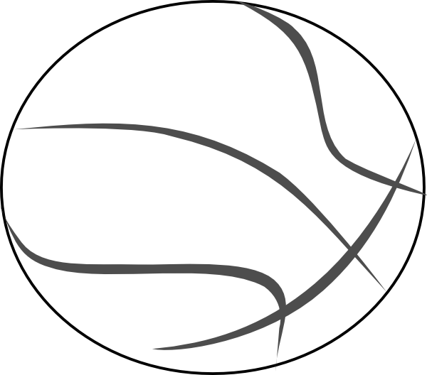 clip art free download Basketball clip vector. Download about outline item