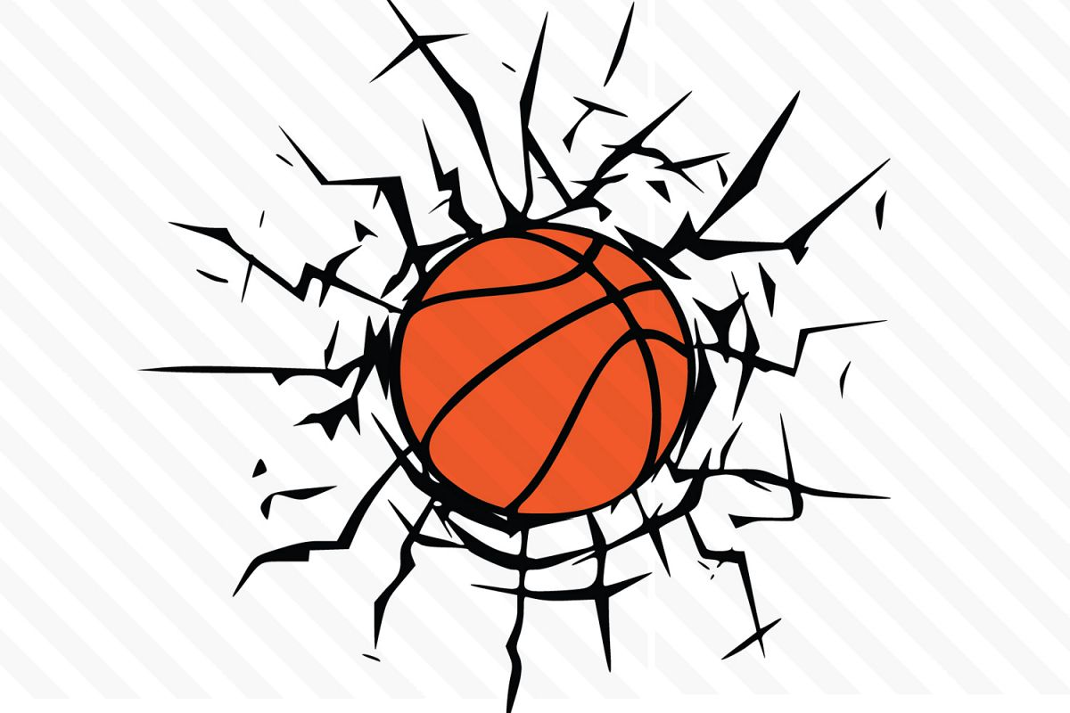clipart freeuse download Svg vector . Basketball clipart.