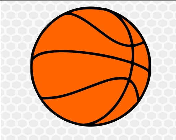 jpg black and white Basketball clipart. Svg sports files for.