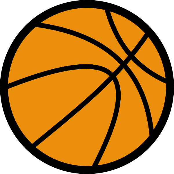 clip art transparent Art at clker com. Basketball clip cartoon