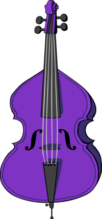 svg transparent download Bass clipart cello. Brown vector clip art.