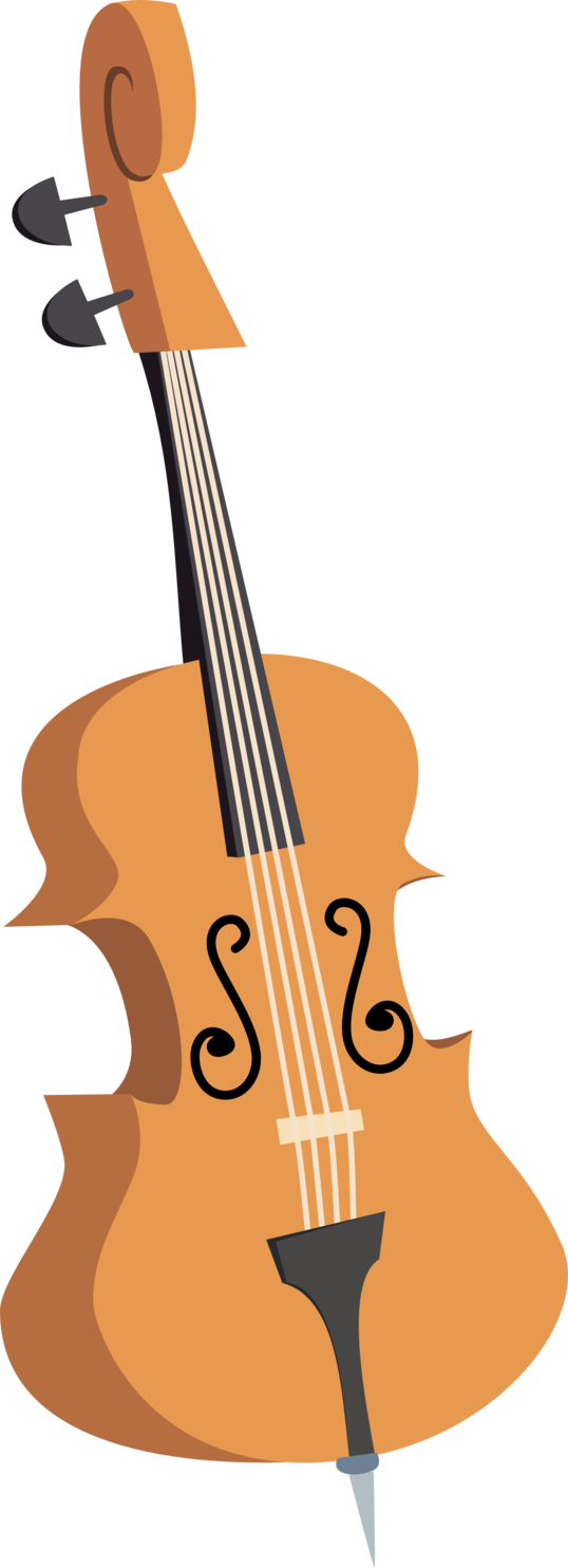 vector library library Octavia s double by. Bass clipart cello.