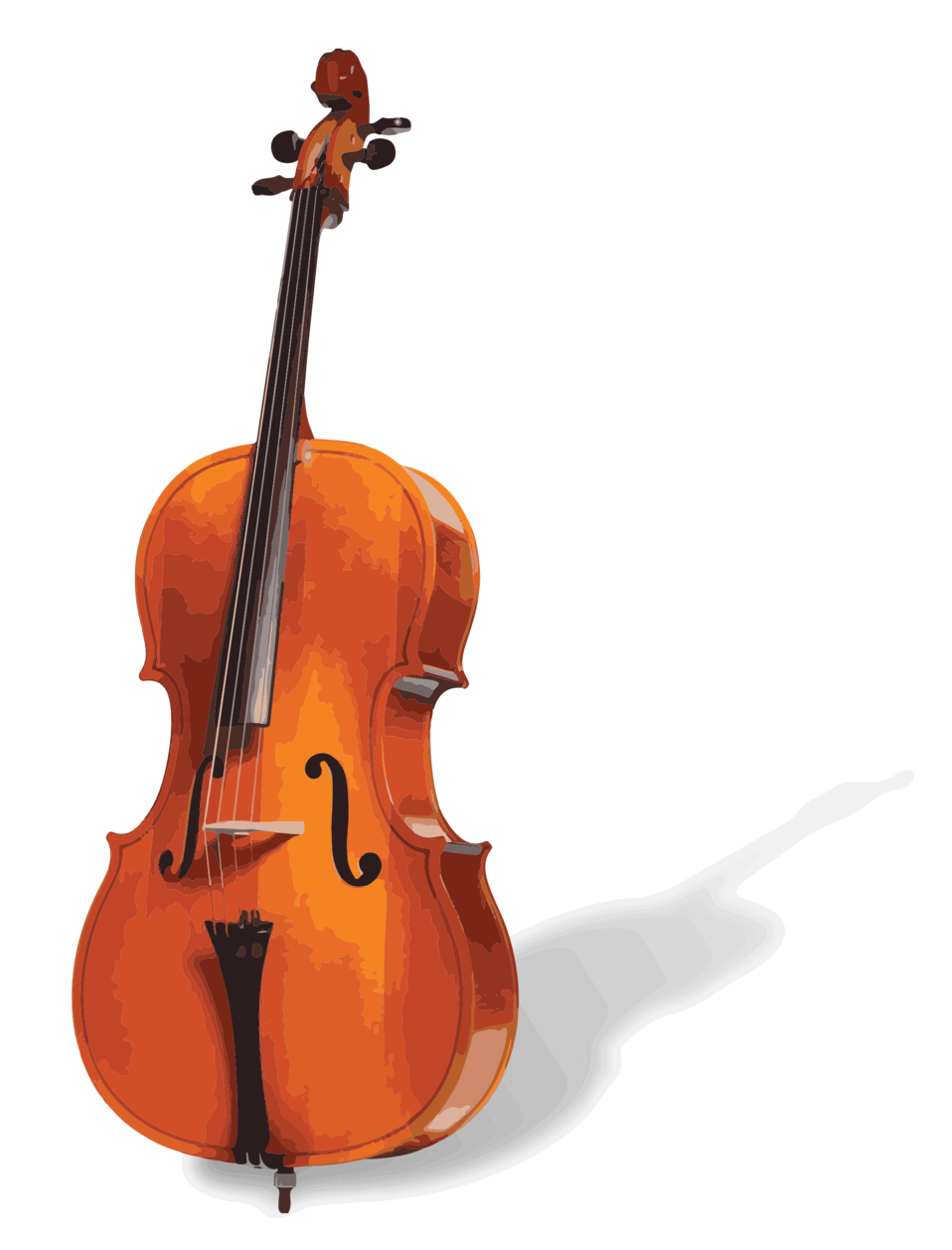 image royalty free Public domain clip art. Bass clipart cello.
