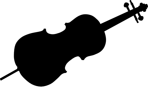 svg black and white stock Pin cello clip art. Bass svg