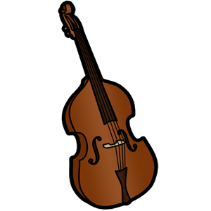 svg royalty free Bass clipart cello.  collection of string.