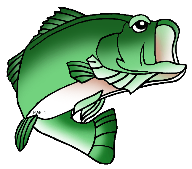 clip freeuse download Bass clipart freshwater fish. United states clip art.
