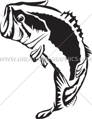 vector black and white download Bass svg jumping. Silhouette at getdrawings com