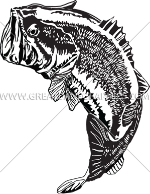 picture free stock Large jumping production ready. Bass svg big mouth