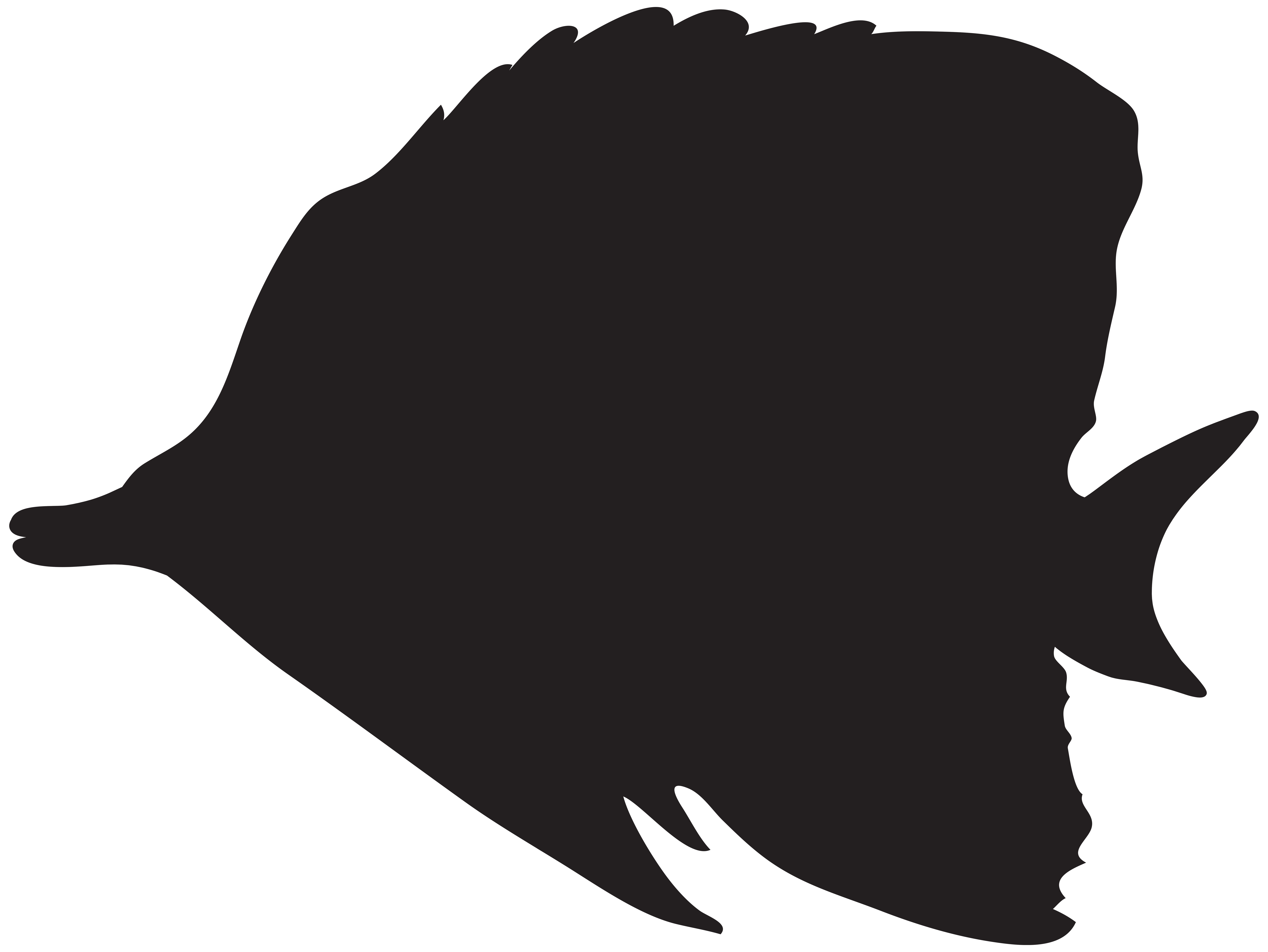 svg download Bass Fishing Silhouette at GetDrawings