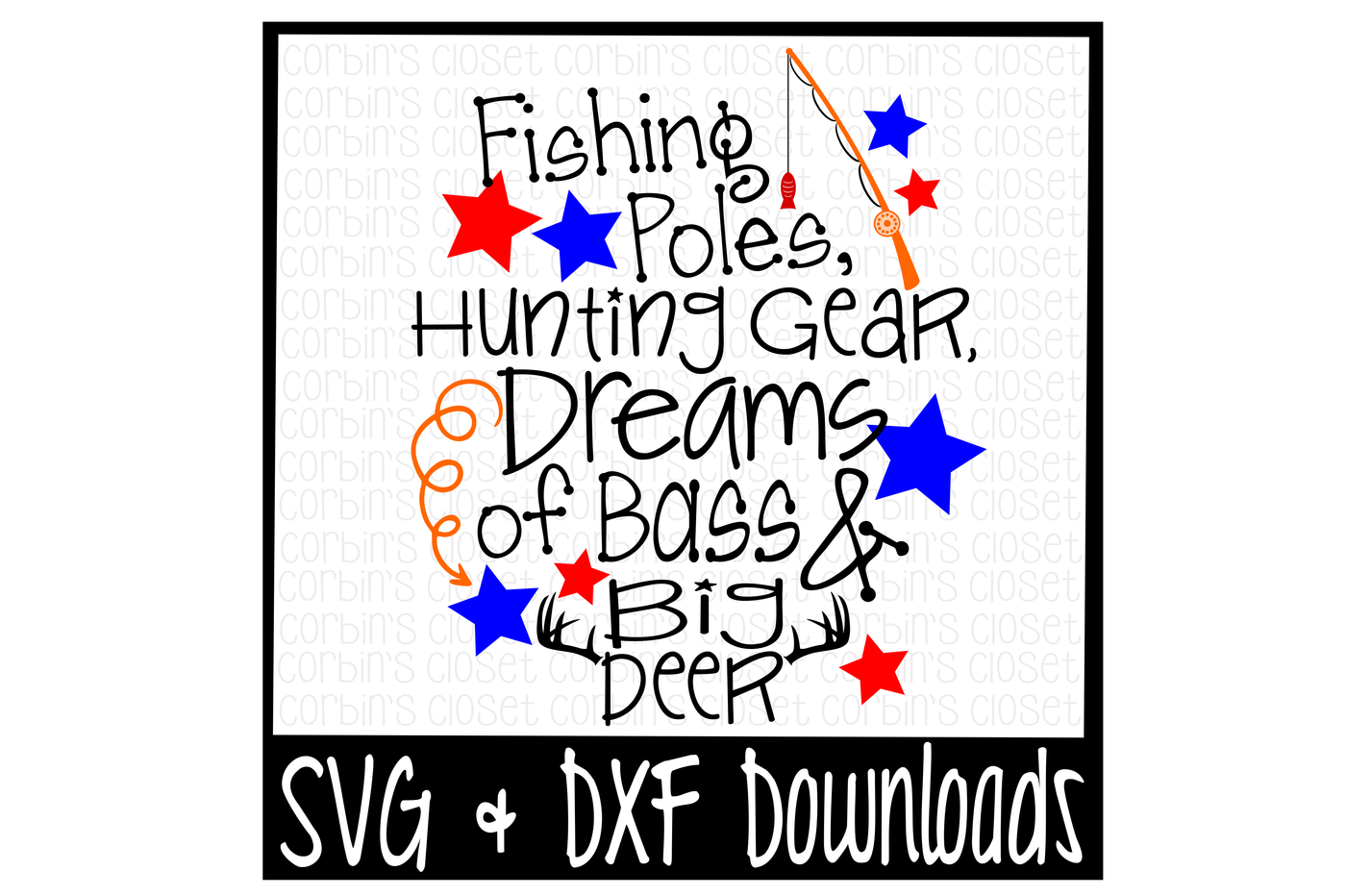 banner black and white library Fishing poles hunting gear. Bass svg dxf